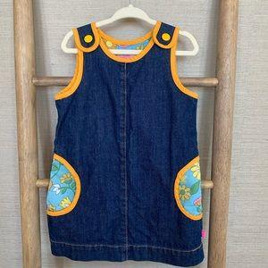 Little Bird Denim Dress w/ pockets 18-24mo